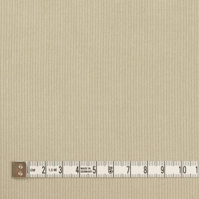 コットン×無地(グレイッシュベージュ)×細コーデュロイ イメージ4