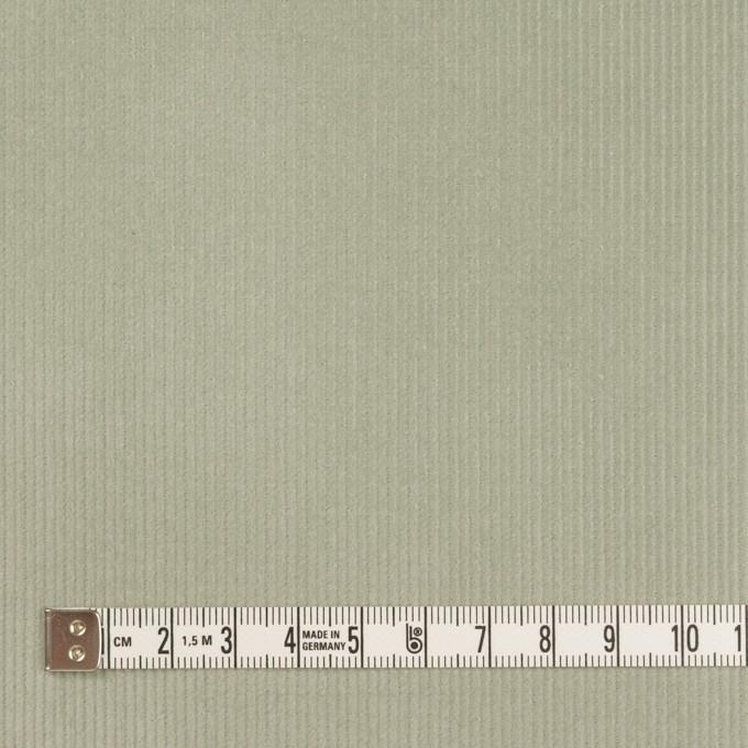 コットン&ポリウレタン×無地(セージグリーン)×細コーデュロイ・ストレッチ イメージ4