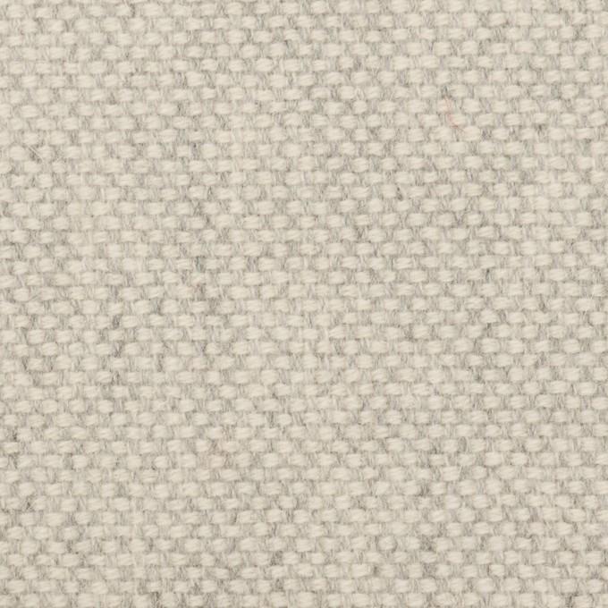 ウール&アンゴラ×ミックス(ライトグレー)×斜子織_全4色 イメージ1