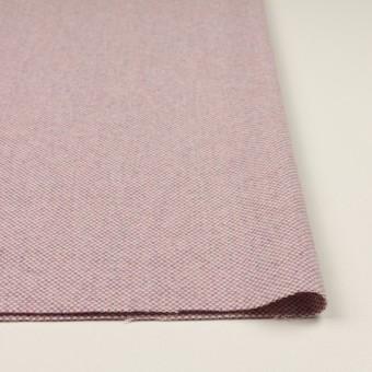 ウール&アンゴラ×ミックス(ピンク)×斜子織_全4色 サムネイル3