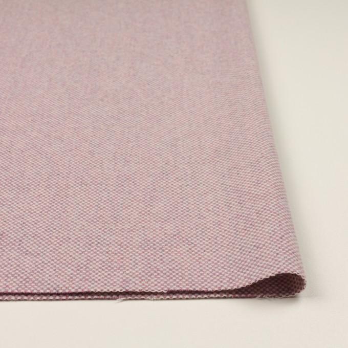 ウール&アンゴラ×ミックス(ピンク)×斜子織_全4色 イメージ3
