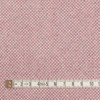 ウール&アンゴラ×ミックス(ピンク)×斜子織_全4色 サムネイル4