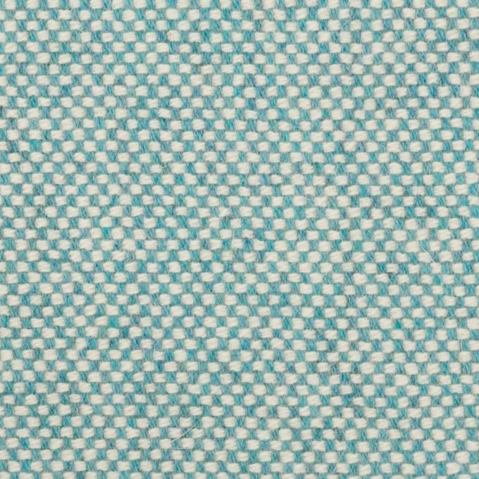 ウール&アンゴラ×ミックス(サックス)×斜子織_全4色 イメージ1