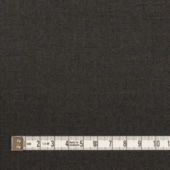 ポリエステル&ポリウレタン×無地(チャコールグレー)×サージストレッチ サムネイル4