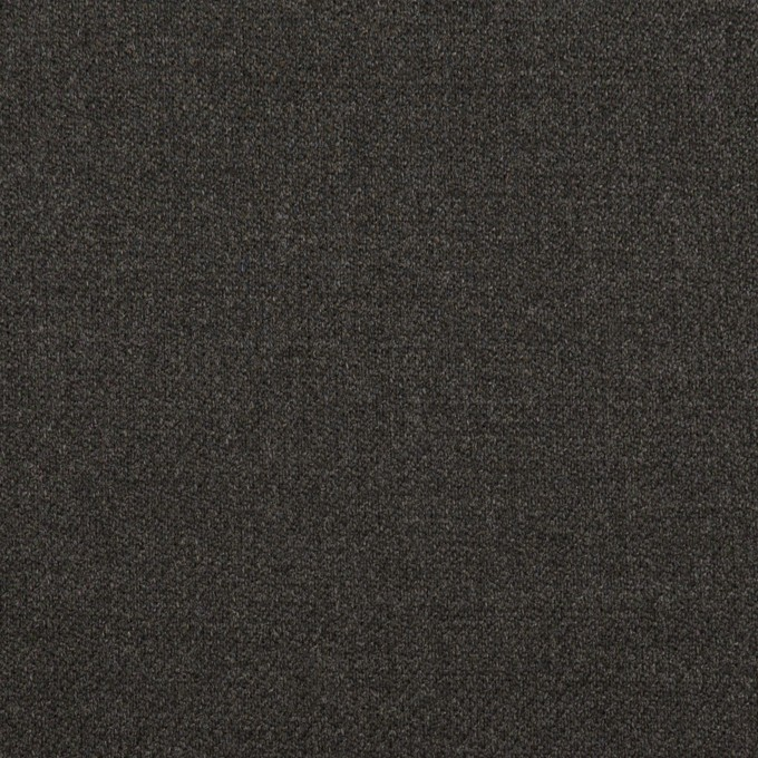 ポリエステル&ポリウレタン×無地(チャコールグレー)×サージストレッチ イメージ1