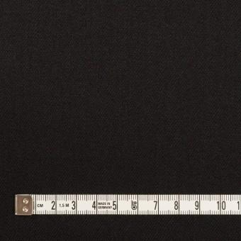 ウール&ポリウレタン×無地(ブラック)×サージストレッチ サムネイル4