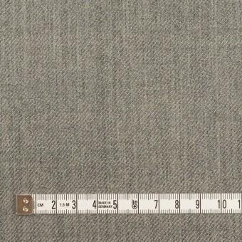 ウール×無地&チェック(グレー&カーキグリーン)×Wフェイスサージ サムネイル7