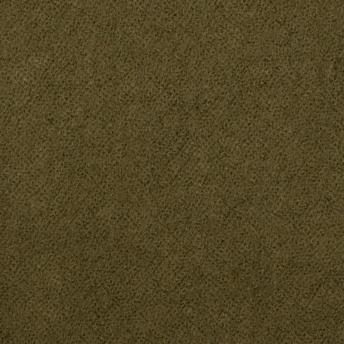 ウール×無地(カーキグリーン)×ガーゼ_全2色 イメージ1