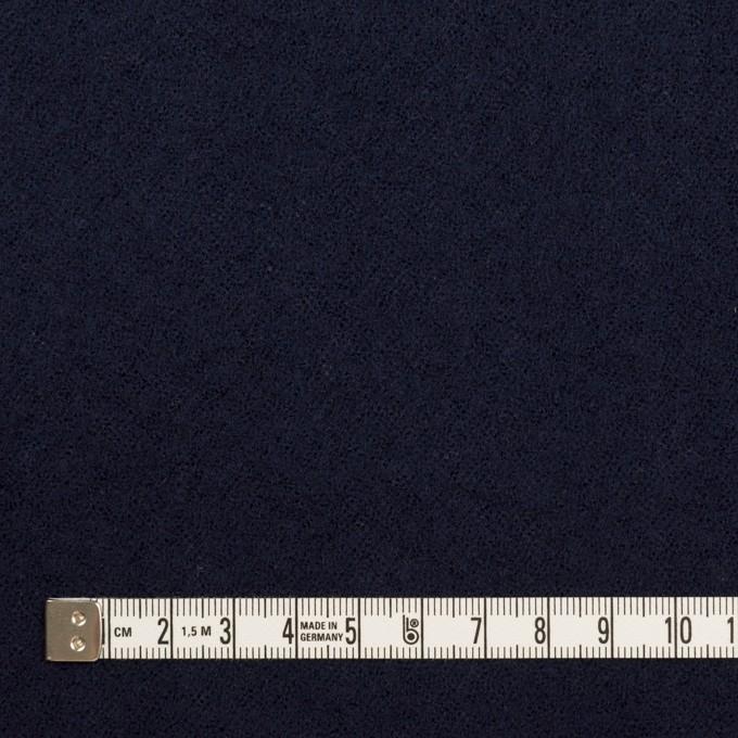ウール×無地(ネイビー)×ガーゼ_全2色 イメージ4
