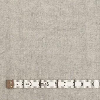 ウール×無地(ライトグレー)×ガーゼ サムネイル4