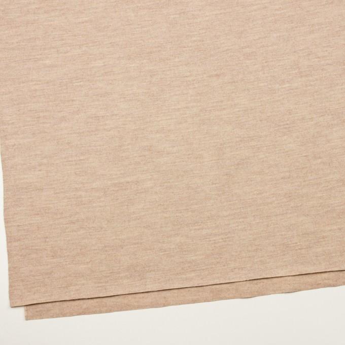 ウール&ナイロン×無地(オートミール)×圧縮ニット_全2色 イメージ2