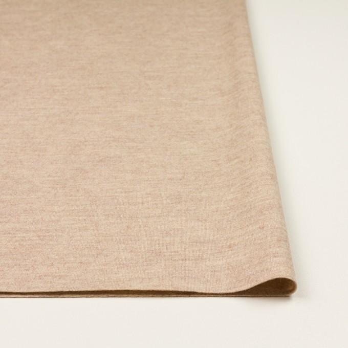 ウール&ナイロン×無地(オートミール)×圧縮ニット_全2色 イメージ3