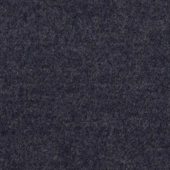 ウール&ナイロン×無地(アッシュネイビー)×圧縮ニット_全2色