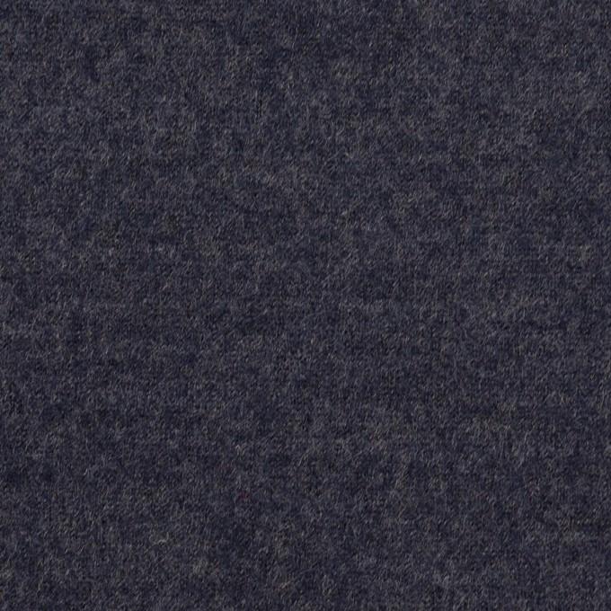 ウール&ナイロン×無地(アッシュネイビー)×圧縮ニット_全2色 イメージ1