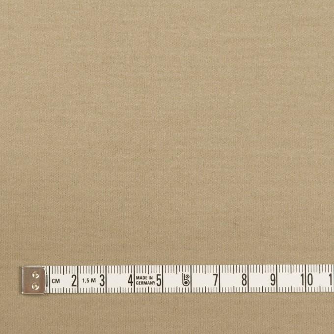 ウール×無地(カーキベージュ)×圧縮ニット イメージ4