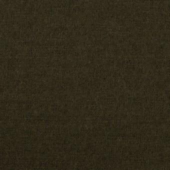 ウール×無地(ディープカーキグリーン)×天竺ニット