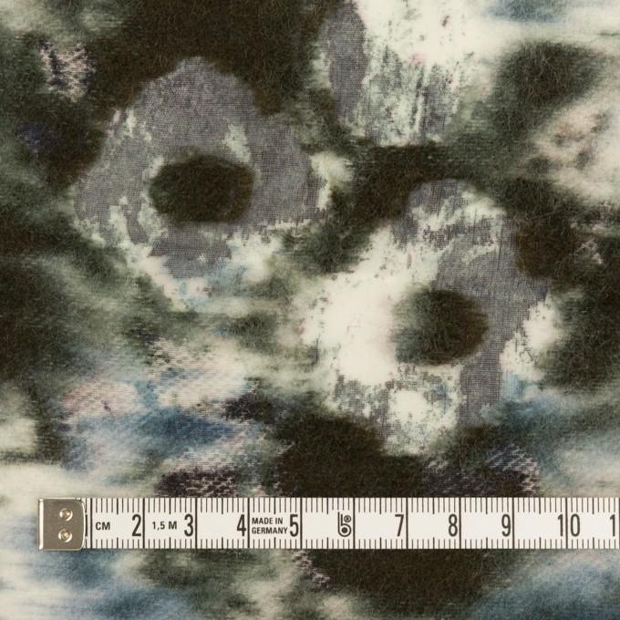 コットン&ウール×ペイント(ブルーグレー)×ボイルカットジャガード_全2色 イメージ4