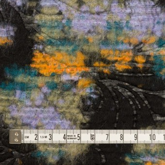 ウール&ポリエステル混×フラワー(マルチ)×ジャガード(型押し) サムネイル4