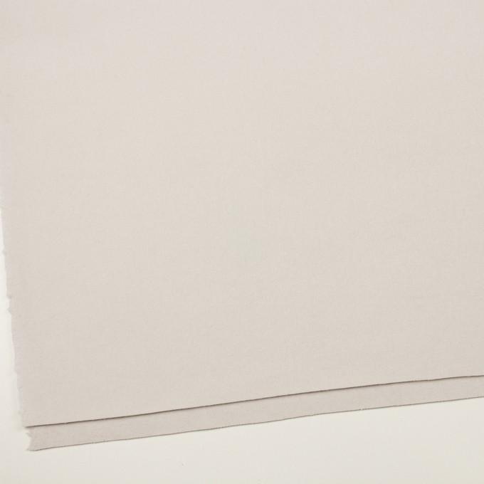 ウール×無地(パールグレー)×ソフトメルトン イメージ2