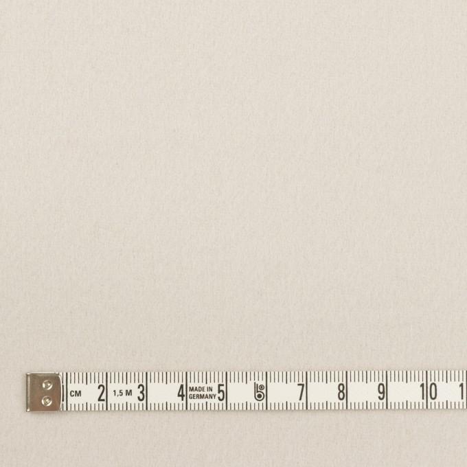 ウール×無地(パールグレー)×ソフトメルトン イメージ4
