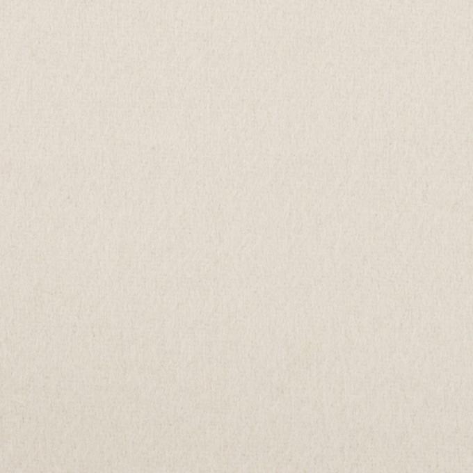 ウール×無地(パールグレー)×ソフトメルトン イメージ1