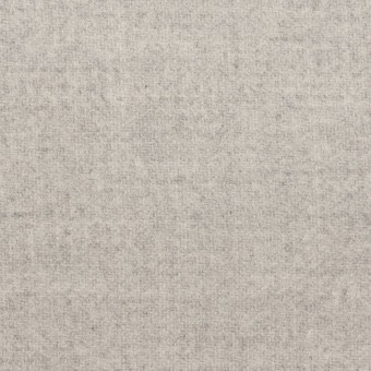 ウール&ナイロン×無地(ライトグレー)×ソフトメルトン