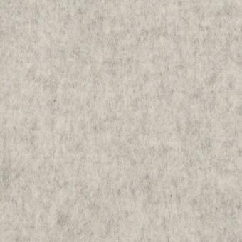 ウール×無地(ライトグレー)×ソフトメルトン