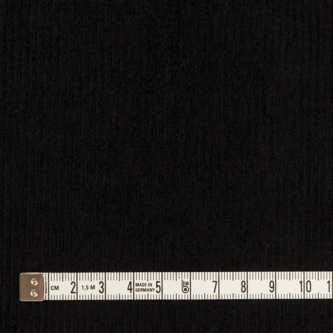 コットン×無地(ブラック)×中細コーデュロイ_全4色 イメージ4