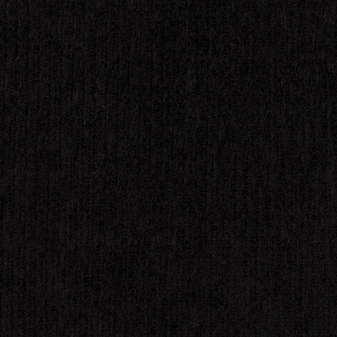 コットン×無地(ブラック)×中細コーデュロイ_全4色 イメージ1