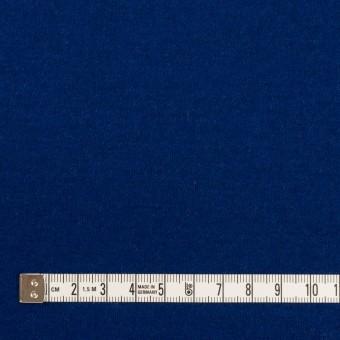 ウール×無地(マリンブルー)×圧縮ニット サムネイル4