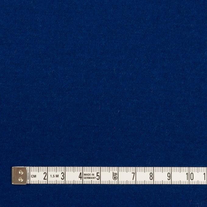 ウール×無地(マリンブルー)×圧縮ニット イメージ4