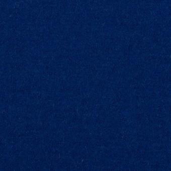 ウール×無地(マリンブルー)×圧縮ニット