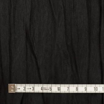 ポリエステル×無地(ブラック)×スエードかわり織(プリーツ加工) サムネイル4