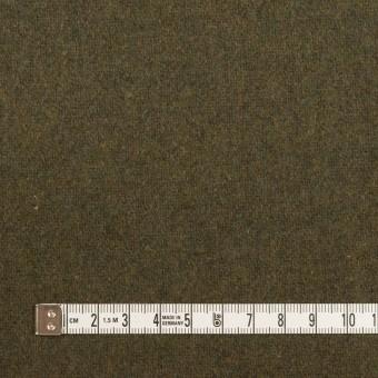 ウール&ポリエステル混×無地(カーキグリーン)×ツイード サムネイル4