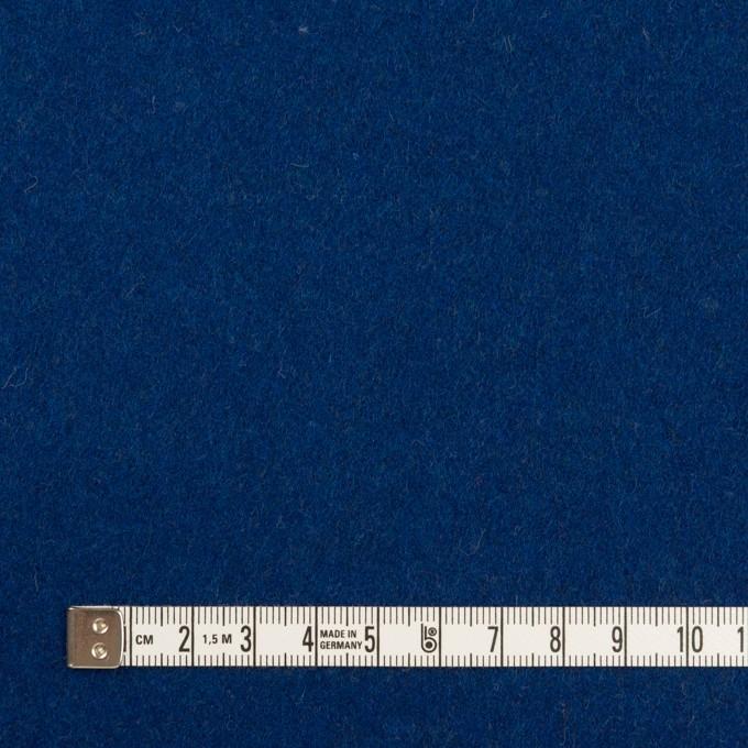 ウール×無地(マリンブルー)×ソフトメルトン イメージ4