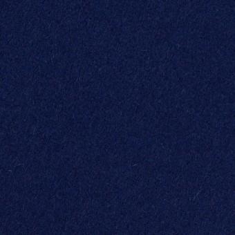 ウール×無地(プルシアンブルー)×メルトン