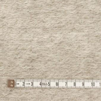 モヘア&ウール混×無地(パールグレー)×ループニット_イタリア製 サムネイル4