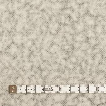 ウール&ナイロン×無地(パールグレー)×メッシュニット サムネイル4