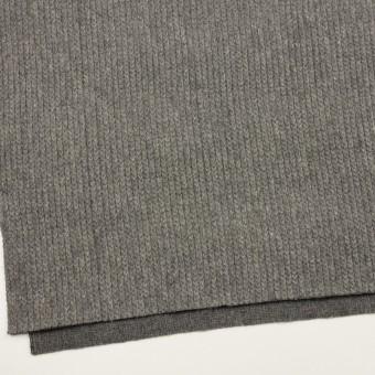 ウール&アンゴラ混×無地(グレー)×バルキーニット_全3色 サムネイル2