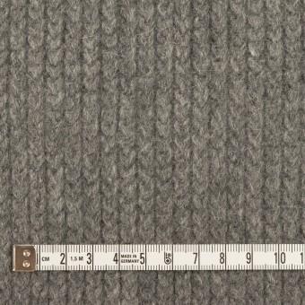 ウール&アンゴラ混×無地(グレー)×バルキーニット_全3色 サムネイル4