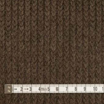 ウール&アンゴラ混×無地(アッシュブラウン)×バルキーニット_全3色 サムネイル4