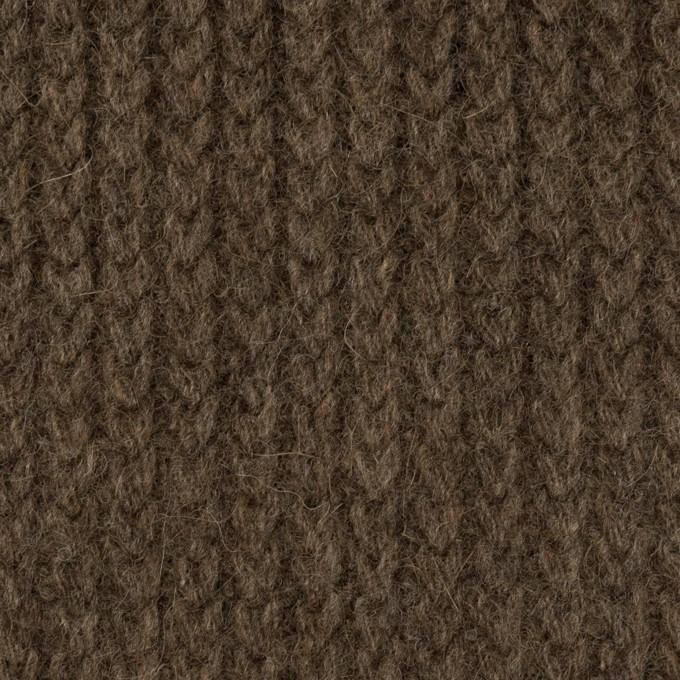 ウール&アンゴラ混×無地(アッシュブラウン)×バルキーニット_全3色 イメージ1