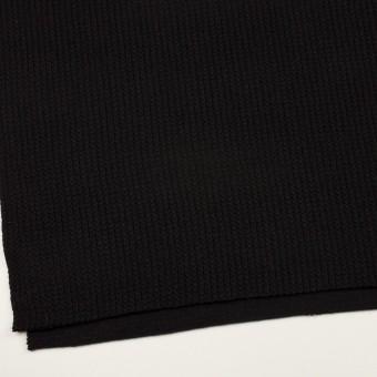 ウール&アンゴラ混×無地(ブラック)×バルキーニット_全3色 サムネイル2