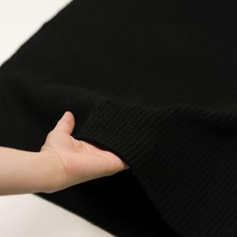 ウール&アンゴラ混×無地(ブラック)×バルキーニット_全3色 サムネイル5