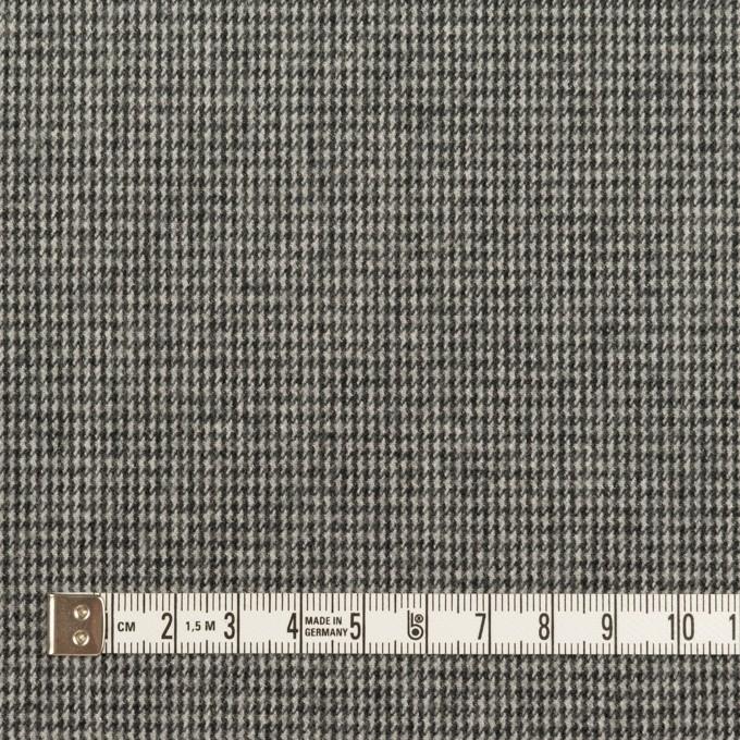 コットン×チェック(グレー)×千鳥格子_イタリア製 イメージ4