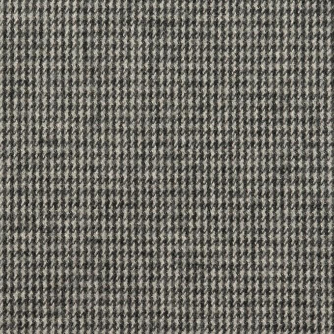コットン×チェック(グレー)×千鳥格子_イタリア製 イメージ1