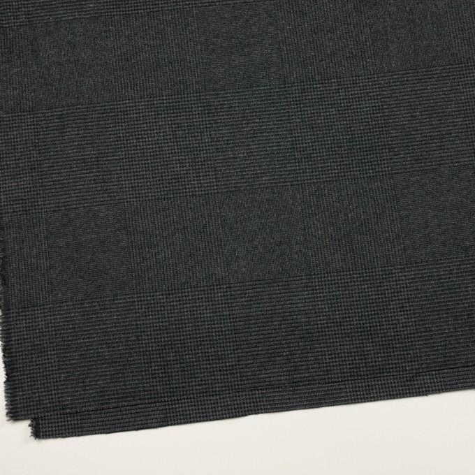 コットン×チェック(チャコール)×千鳥格子 イメージ2