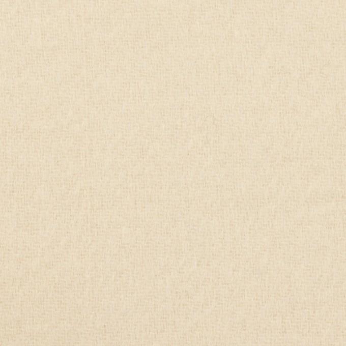 ウール&ナイロン×無地(キナリ)×ソフトメルトン イメージ1