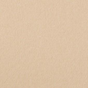 ウール&ナイロン×無地(ウォームベージュ)×ソフトメルトン