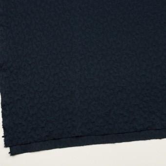 コットン&レーヨン混×レオパード(ネイビー)×ジャガードニット(キルティング)_全2色 サムネイル2
